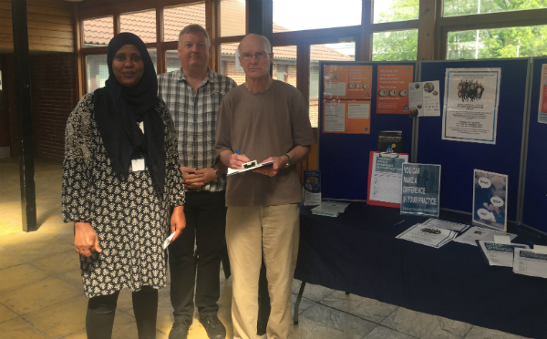 Members of Pitsea's Dipple Medical Centre PPG hold events to encourage more patients to have their say