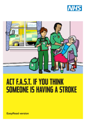 STROKE 20 20ACT 20FAST 20Easy 20Read 20leaflet 300