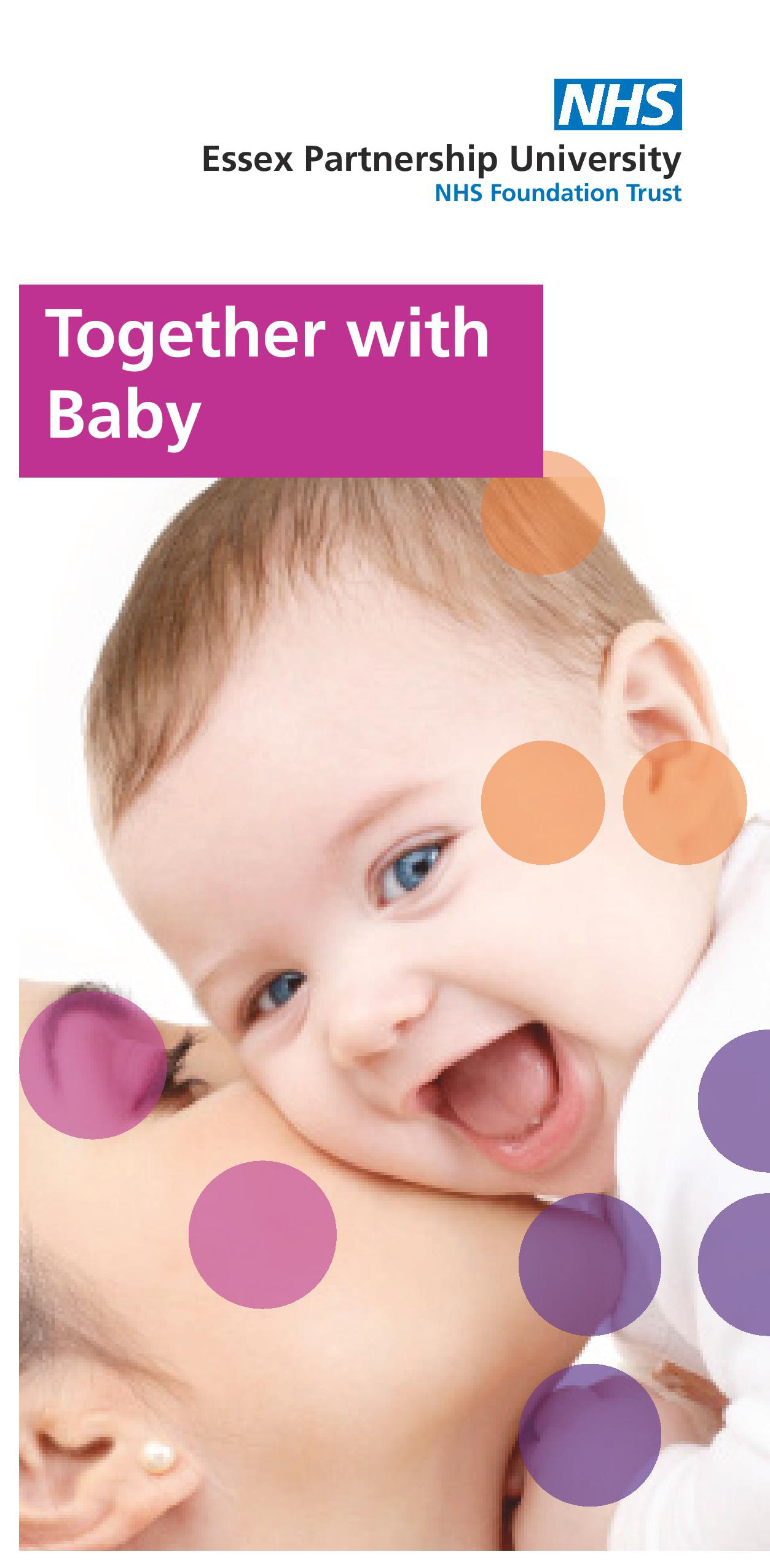 Front cover of the Together with Baby patient leaflet